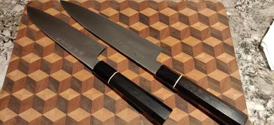 JapaneseChefsKnife.Com Fu-Rin-Ka-Zan ZDP-189 Wa Series FZDP-1SAB Wa Santoku 190mm (7.4 inch, Octagon Shaped Bocote Wooden Handle) Review