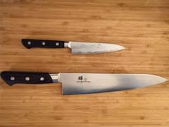 JapaneseChefsKnife.Com JCK Natures Deep Impact Series Petty (120mm and 150mm, 2 sizes) Review