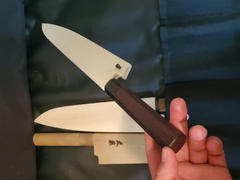 JapaneseChefsKnife.Com Magnolia Wooden Saya for Sujihiki 270mm Review