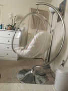 Modholic Hanging Bubble Chair With Stand - White Cushions Review