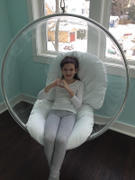 Modholic Hanging Bubble Chair - White Cushions Review