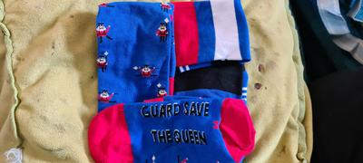 Say it with a Sock Guard Save the Queen (England) Review