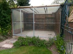 ideas4pets Galvanised Dog Run Panels - 5cm Bar Spacing - Prestige Range Review