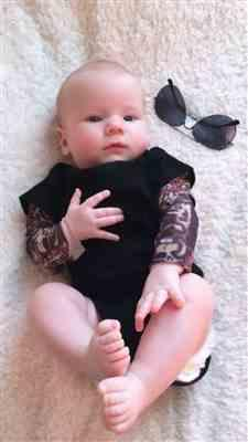 Weslio Baby Tattoo Romper Review