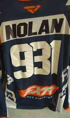 Lloyd Nolan verified customer review of Clutch MX Jersey 20