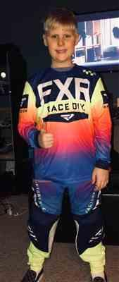 Brayden Hinck verified customer review of Yth Pro-Stretch MX Jersey 20