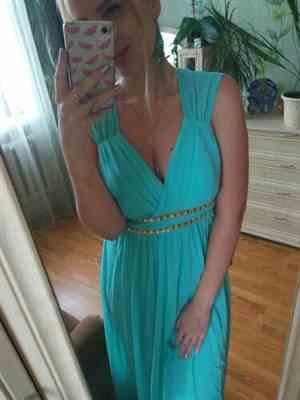 M***a verified customer review of Sleeveless Grecian Style Formal Evening Dresses for Women