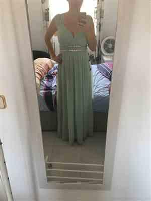 I***z verified customer review of Sleeveless Grecian Style Formal Evening Dresses for Women