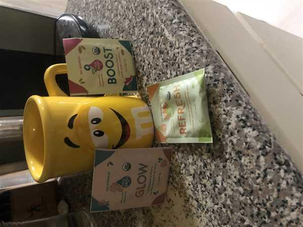 Alissa Gladstone verified customer review of Tea Sprinkles Gift Set of 3 - Refresh + Boost + Glow