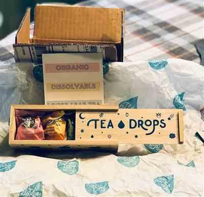 Peggy B. verified customer review of Best Tea Gift Set - Classic Tea Drops Assortment Box