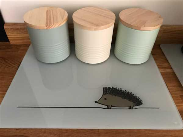 Jin Designs Hedgehog Worktop Saver Review