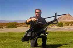 Christopher P. verified customer review of Roban Airwolf 800 Size Scale Helicopter - ARF