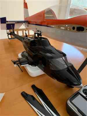 James M. verified customer review of Roban B222 Airwolf 500 Size Helicopter Scale Conversion - KIT