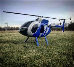 Chris R. verified customer review of Roban MD-500E G-Jive Blue 600 Size Helicopter Scale Conversion - KIT