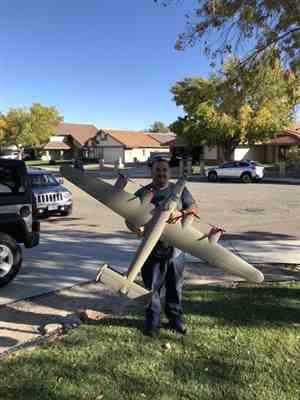 MIke hernandez verified customer review of FlightLine B-24 Liberator Olive Drab 2000mm (78) Wingspan - PNP