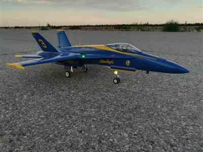 Darryl L. verified customer review of Freewing F/A-18C Hornet Blue Angels 90mm EDF Jet - ARF PLUS