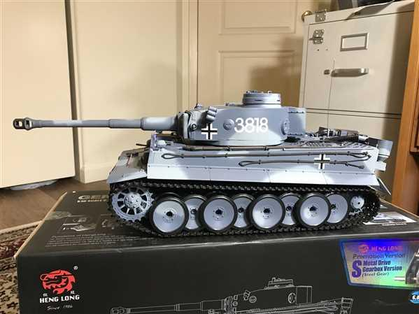 Brian M. verified customer review of Heng Long German Tiger 1 Upgrade Edition 1/16 Scale Heavy Tank - RTR