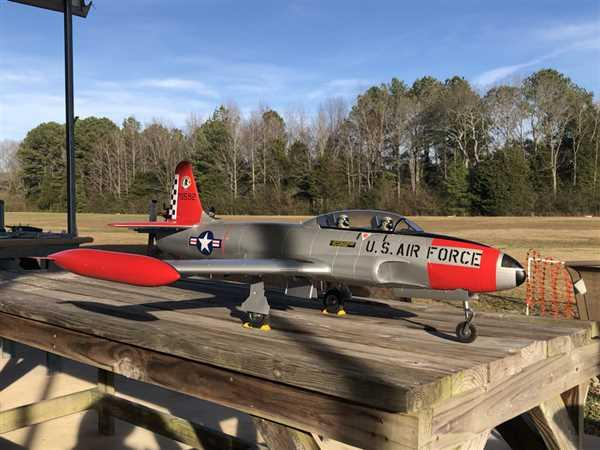 Charles Pierce verified customer review of Freewing T-33 Shooting Star USAF 80mm EDF Jet - PNP