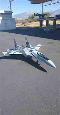 Luke H. verified customer review of Freewing SU-35 Gray Camo Twin 70mm EDF Thrust Vectoring Jet - PNP
