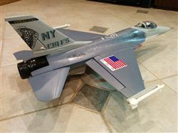 Loc T. verified customer review of Freewing F-16 Falcon 70mm EDF Thrust Vectoring Jet - PNP