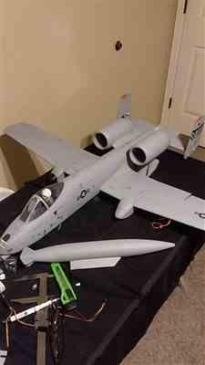 Motion RC Freewing A-10 Thunderbolt II Twin 64mm High Performance EDF Jet - PNP Review