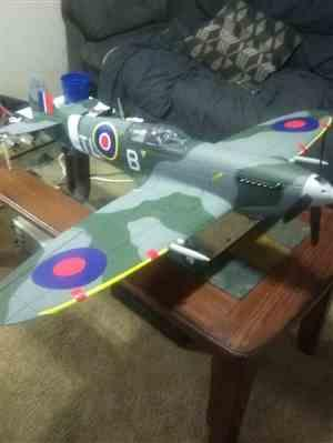 Motion RC Dynam Supermarine Spitfire 1200mm (47) Wingspan - PNP Review