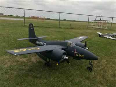Richard U. verified customer review of FlightLine F7F-3 Tigercat 1600mm (63) Wingspan - PNP