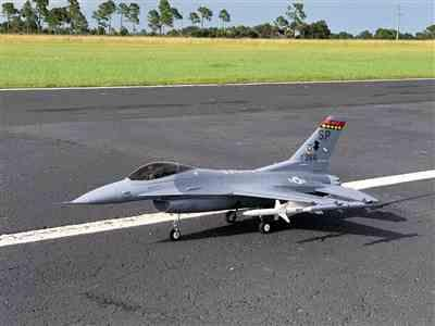 Ronald B. verified customer review of Freewing F-16 V2 70mm EDF Jet - ARF PLUS