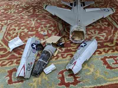 Motion RC Freewing F-8 Crusader 64mm EDF Jet - PNP Review