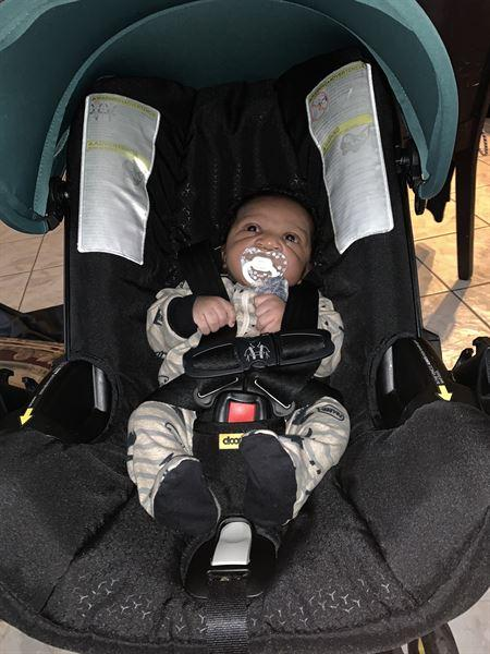 Rachel J. verified customer review of Doona Car Seat & Stroller