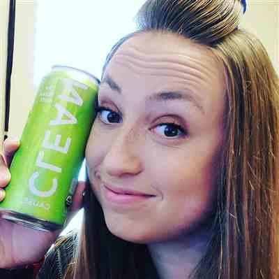 Ashley M. verified customer review of Lemon Lime Sparkling Yerba Mate