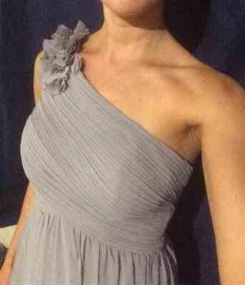 Anonymous verified customer review of Ruched One Shoulder Evening Dress