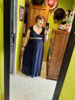 Ever-Pretty US Plus Size Sleeveless Grecian Style Evening Dress Review