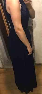 Bernice J. verified customer review of Sleeveless Maxi Long A Line Plus Size Lace Evening Dresses