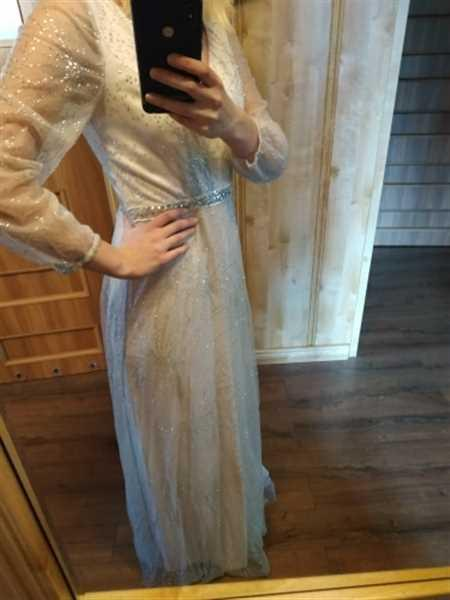 Ever-Pretty US Elegant Deep V-Neck Lantern Long Sleeve Dresses Review