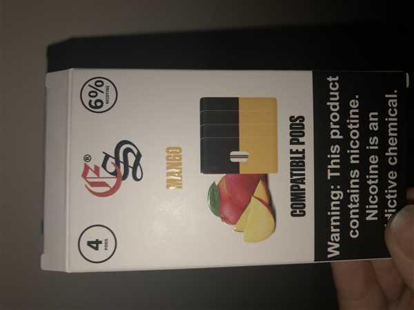Anonymous verified customer review of EonSmoke Mango Pods