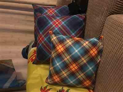Mark batchelor verified customer review of YES - Alba Gu Bràth - Faux Suede Tartan Cushion - 22""