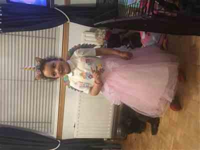 Linda Ross verified customer review of Unicorn Party Dress