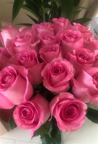 Maria Cuengco verified customer review of Luxury Pink Roses