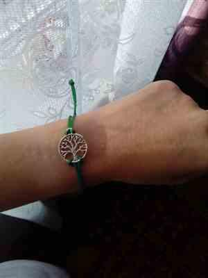 Joanna verified customer review of Tree Of Life Charm Band: Plant a tree with every bracelet