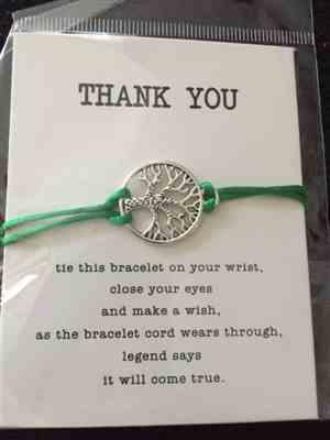 Alexander verified customer review of Tree Of Life Charm Band: Plant a tree with every bracelet