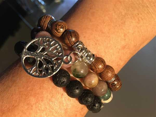 Treehuggers Bracelets Treehuggers™ Original Lava Stone Charm: Plant a tree with every bracelet  Review