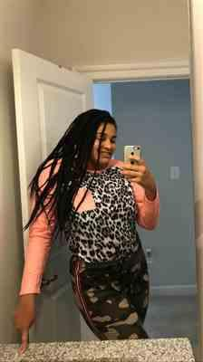 Valentina verified customer review of Leopard Print Raglan Sleeve Tops