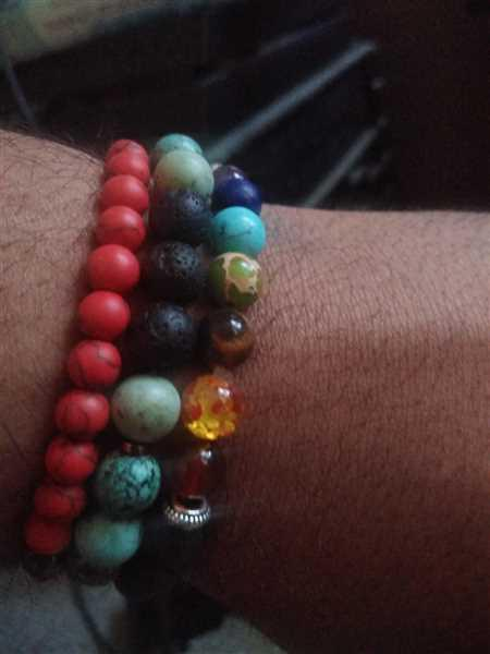 Timone Smith verified customer review of 7 Chakra Diffuser Bracelet