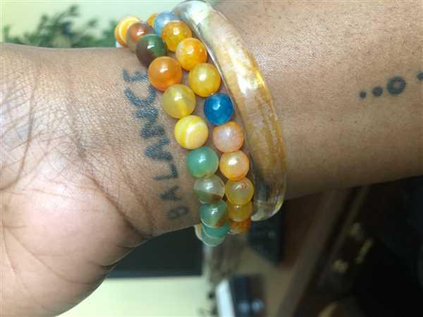 Kumi Oils Orange Onyx Active Energy Bracelet Review