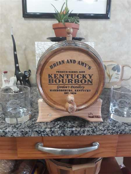 brian gordon verified customer review of Personalized Whiskey Glass