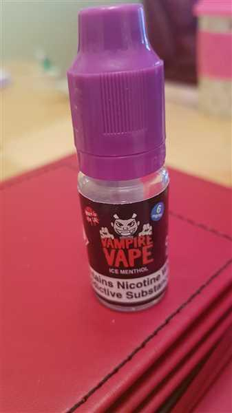 Vape and Juice Vampire Vape - Ice Menthol Review