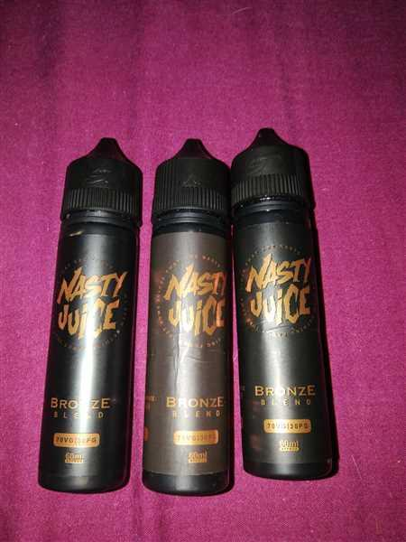 Vape and Juice Nasty Juice Bronze Blend Review