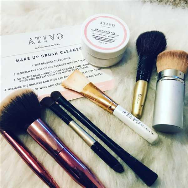 Victoria Fox verified customer review of Makeup Brush Cleaner Shampoo
