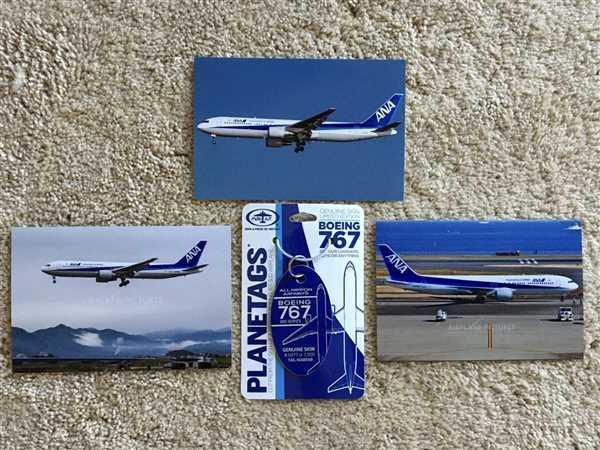 Randy Rhodes verified customer review of Boeing ANA 767 PlaneTag Tail #JA8568